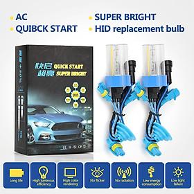 1pair 9005/HB3 Car Quick Light Xenon Lamp 6000K Headlights Replacement Bulb for RV SUV MPV Car