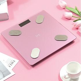 Cân Đo Sức Khỏe Thông Minh (Đo 11 thông số cơ thể qua smartphone) đo tỷ lệ Mỡ thừa, Lượng nước trong cơ thể....