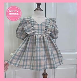 váy cho bé  + TẶNG BỜM NGỌC Váy công chúa  cho bé  Hàng Thiết Kế Cao Cấp vnxk