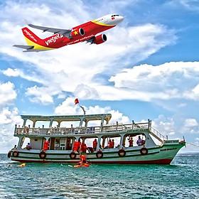 Tour Phú Quốc 3N2Đ Từ HCM, Bay Vietjet Air, Giờ Bay Đẹp, Khởi Hành Thứ 6 Hàng Tuần Tháng 09, 10, 11, 12