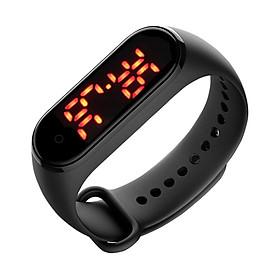 For Men Women Kids V8 Body Temperature Smart Bracelet Precise Display Smart Band Clock Time Hours Smart Wristband