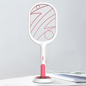 2-in-1 Mosquito Swatter USB Charging Electric Fly Swatter Bug Zapper Racket Mosquito Killer Lamp
