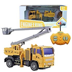 Đồ chơi điều khiển từ xa xe tải cần cẩu KAVY độ bền cao chống va đập, tốc độ cao