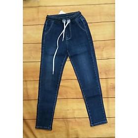 (mới về) Quần bò jeans dài  mềm co dãn cho bé gái 17-25kg