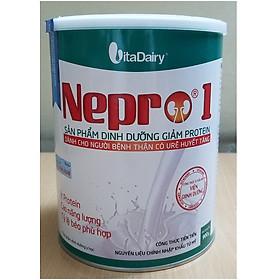Sản phẩm dinh dưỡng giảm protein Nepro 1- dành cho người bệnh thận có urê huyết tăng (900 gr)
