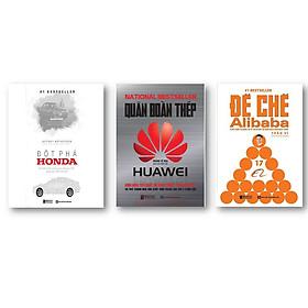 Bộ sách Thành công ( Đột phá Honda Bí Mật Thành Công Của Công Ty Xe Sáng Tạo Nhất Thế Giới - Quân Đoàn Thép Huwei - Đế Chế Alibaba )