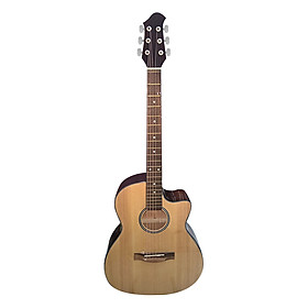 Đàn Guitar Acoustic DVE70 - Màu Gỗ