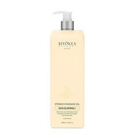 Dầu Massage Bụng Biyokea - Skin Slimming 1 (Làm nóng) - 1000ml