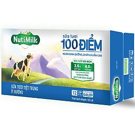 Biểu đồ lịch sử biến động giá bán Thùng 12 Hộp Nutimilk Sữa Tươi 100 Điểm - Sữa Tươi Tiệt Trùng Ít Đường Hộp 1 Lít