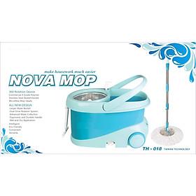 Bộ thùng lau nhà 360 độ TH-018 Nova Mop