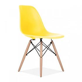 Ghế Nhựa Chân Gỗ Eames