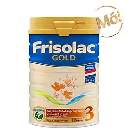 Sữa Bột Frisolac Gold 3 380g Dành Cho Trẻ Từ 1 - 2 Tuổi