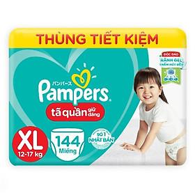 TÃ QUẦN PAMPERS MEGABOX XL144