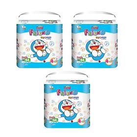 Combo 3 Tã quần Goo.n Friend M54 thiết kế mới - tặng đồ chơi Toys house-0