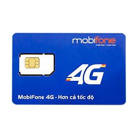 SIM 4G Mobifone Max Băng Thông 12 Tháng Không Nạp Tiền - Không Giới Hạn Dung Lượng - Hàng chính hãng