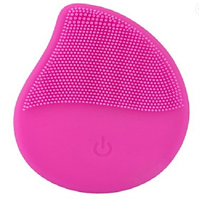 Máy Rửa Mặt Massage Da Mặt E-B01 Luxury Silicone Facial Cleansing Brush (Màu ngẫu nhiên) - Hàng Nhập Khẩu