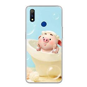 Ốp điện thoại Realme 3 Pro - 0050 PIG17 - Silicon dẻo - Hàng Chính Hãng