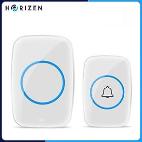 Chuông cửa không dây thông minh Horizen CH-01, chống nước khoảng cách sử dụng trong 300M, 60 loại nhạc chuông hay