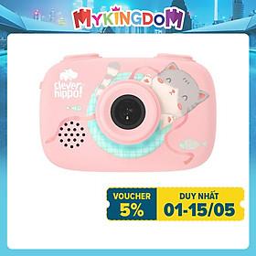 Đồ Chơi Clever Hippo Toy Máy Chụp Hình Thông Minh - Hồng Dịu Dàng  YT011/PK
