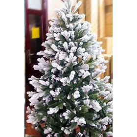Cây thông noel 3 loại lá phủ tuyết (Cây 180cm)