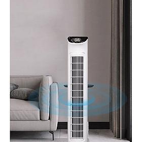Quạt tháp điều hòa không cánh cung cấp ion, lọc không khí loại bỏ mùi khó chịu, giúp tinh thần thoải mái, Không tạo tiếng ồn, vô cùng yên tĩnh cải thiện giấc ngủ.an toàn cho trẻ nhỏ -kèm Giá đỡ điện thoại để bàn đa năng tiện dụng xoay 270 độ