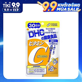 Viên Uống Bổ Sung Vitamin C DHC Vitamin C Hard Capsule Nhật Bản