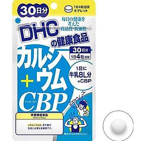 Thực phẩm chức năng Viên Uống Bổ Sung Canxi, CBP Tăng Chiều Cao DHC, 120 viên