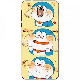 Ốp lưng dành cho Nokia 3.1 mẫu 3 mèo máy Doraemon