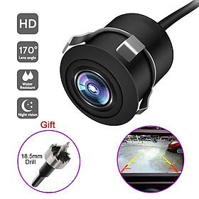 170-degree Wide Angle Car Reverse Camera Hd Night Vision Camera Backup Camcorder Waterproof Monitor