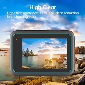 Tempered Glass LCD Display Screen Protector + Lens Screen Protector for GoPro  9 Black Ultra Thin Accessories Kit, Anti Fingerprint