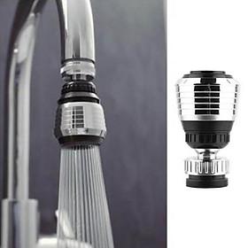 Đầu vòi rửa chén xoay đa chiều, 2 chế độ phun tiết kiệm nước