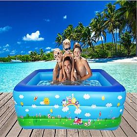 Bể bơi 180*140*40 cm bể bơi cho bé vui chơi