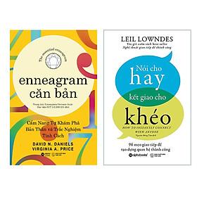 Combo Khám Phá: Enneagram Căn Bản + Nói Cho Hay Kết Giao Cho Khéo