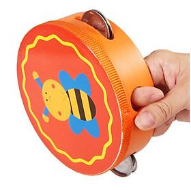 Đồ chơi trống xèng bằng gỗ an toàn cho bé - giao hình ngẫu nhiên