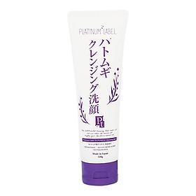 Sữa rửa mặt, tẩy trang chiết xuất mầm lúa mạch Platinum Label Hatomugi Cleansing Foam (120g)