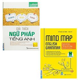 Mindmap English Grammar - Ngữ Pháp Tiếng Anh Bằng Sơ Đồ Tư Duy + Giải Thích Ngữ Pháp Tiếng Anh - Phiên Bản Chibi Tặng Kèm Bookmath NP03