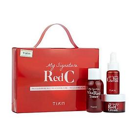 Bộ Kit dưỡng trắng Tiam My Signature Red C