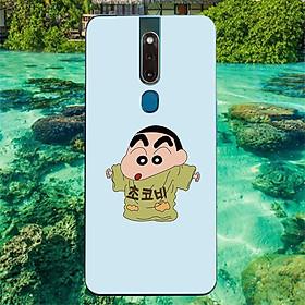Ốp điện thoại dành cho máy Oppo F11 Pro - Shin mặc đồ của bố MS ADITU005