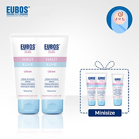Combo 2 Kem chàm sữa toàn thân cho bé 50ml + tặng 2 gel tắm gội mini size và 1 kem chàm sữa mặt mini size