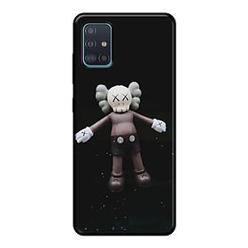 Ốp lưng điện thoại Samsung Galaxy A51 viền dẻo TPU BST KAWS Sesame Street Mẫu 11