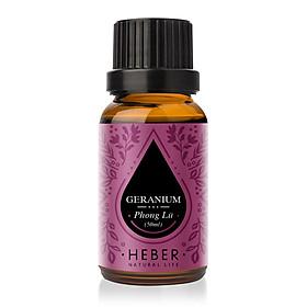 Tinh Dầu Phong Lữ Geranium Essential Oil Heber | 100% Thiên Nhiên Nguyên Chất Cao Cấp