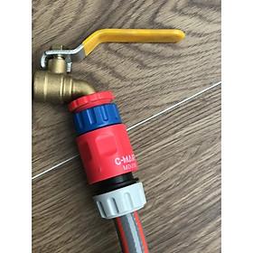 Bộ cút nối ống nước thông minh C-Mart Tools M0006 + M0008