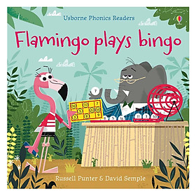 Usborne Phonics Readers: Flamingo Plays Bingo
