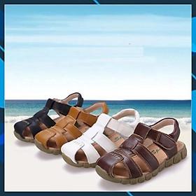Biểu đồ lịch sử biến động giá bán Dép sandal rọ chíp chíp đế mềm cho bé trai, dép rọ cho bé trai 20911 size 26-37
