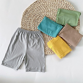Set 5 quần đùi cho bé kiểu dáng basic chất thun lạnh mát mẻ