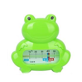 Nhiệt kế đo nhiệt độ nước tắm hình ếch (Xanh)