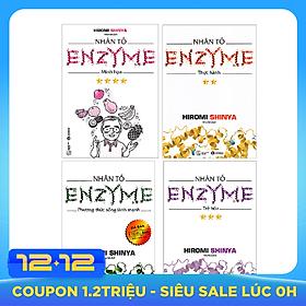 Nhân Tố Enzyme (Trọn Bộ 4 Cuốn) - Tái Bản