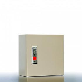 Vỏ Tủ Điện Sắt - Màu Kem (30x30x16 cm)