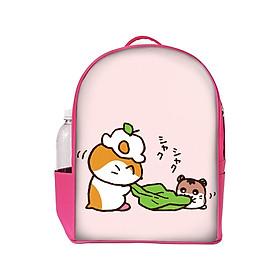 Hình đại diện sản phẩm Balo In Hình Hamster Cắn Lá BHCT422 (27 x 35.5 cm)