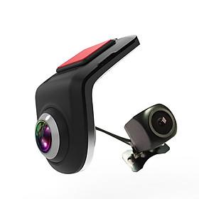 Bộ Camera Hành Trình Trước Và Sau U5 Dùng Cho Ô Tô, Xe Hơi Sử Dụng Màn Hình DVD Android
